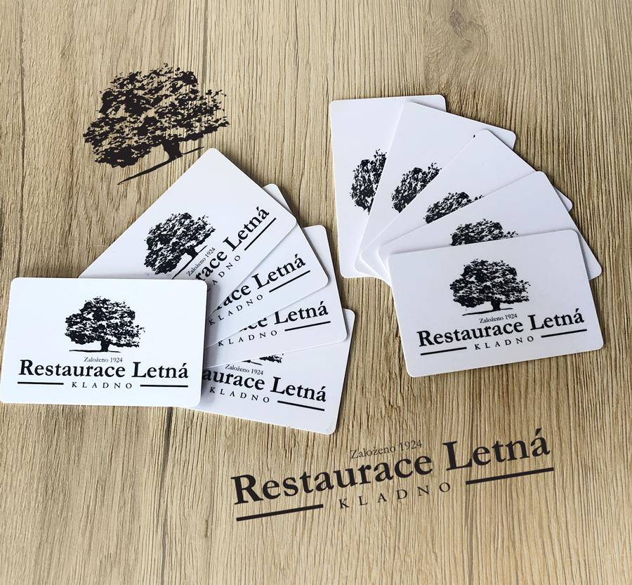 Dárkové karty - Restaurace Letná